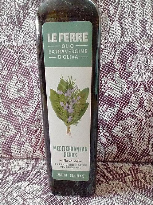Le Ferre Mediterranean Herbs EVOO