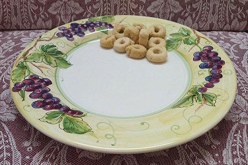 Rampini 28cm Dinner Plate Alfredo Grape