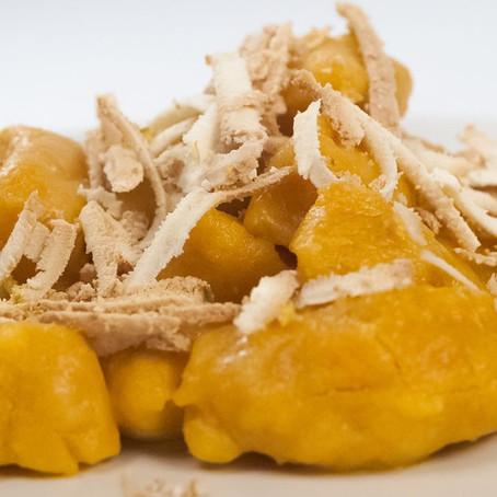 Pancetta & Gorgonzola Sauce for Pumpkin Gnocchi