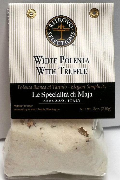 White Polenta with Truffle
