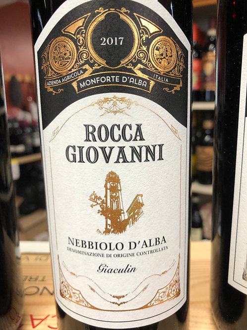 Rocca Giovanni Nebbiolo D'Alba  only in store