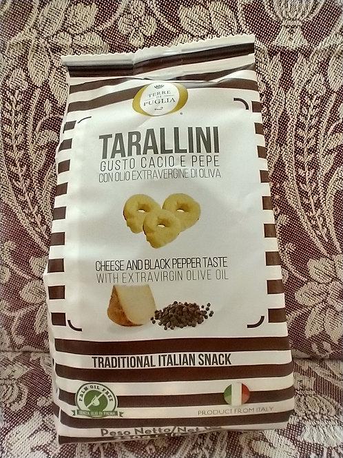Tarallini with Cheese & Pepper