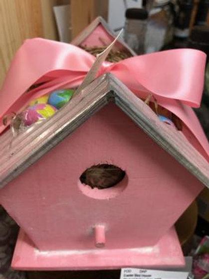 Bird House with Italian Chocolate Eggs