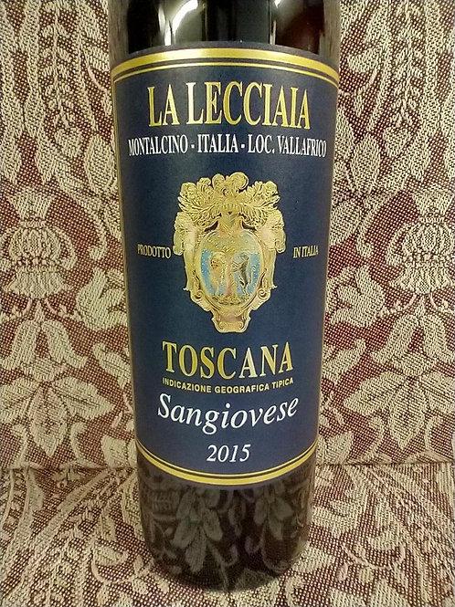 La Lecciaia Sangiovese Toscana IGT 2015