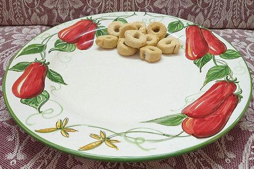 Rampini 28cm Dinner Plate Tomato