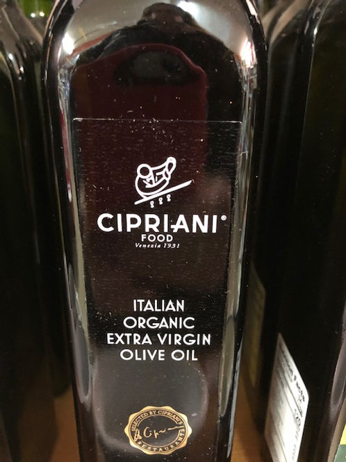 Cipriani Organic Extra Virgin Olive Oil from Tuscany