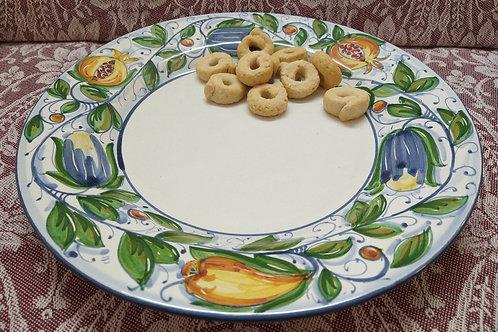 Rampini 28cm Dinner Plate Frutta Veneziana