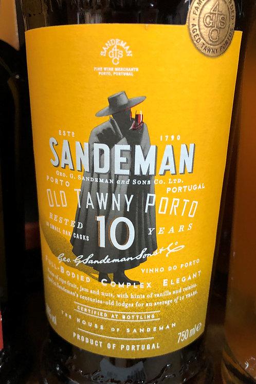 Sandeman 10 yr. Port