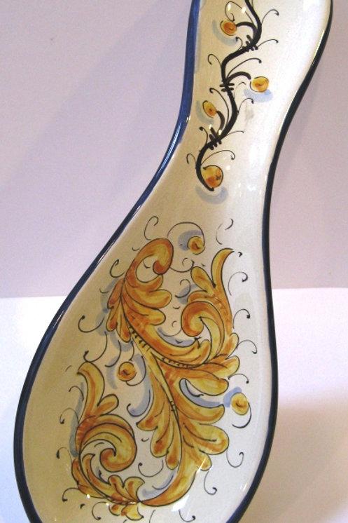 Blue Giallo Spoonrest