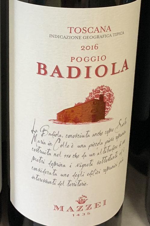 Mazzei Poggio Badiola 2016