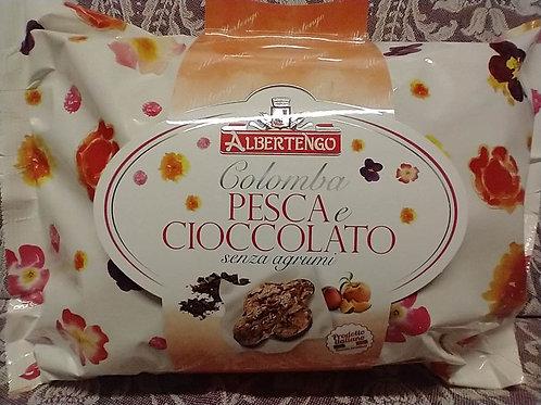 Colomba Cake Peach & Chocolate