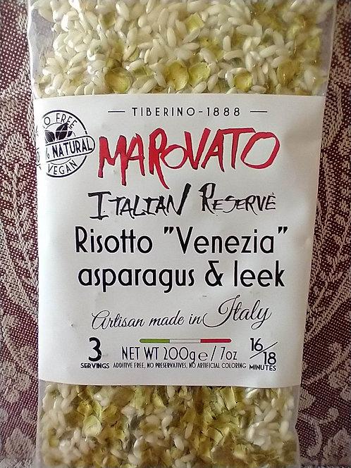 Marovato Risotto Asparagus & Leek
