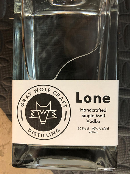 Lone Single Malt Vodka