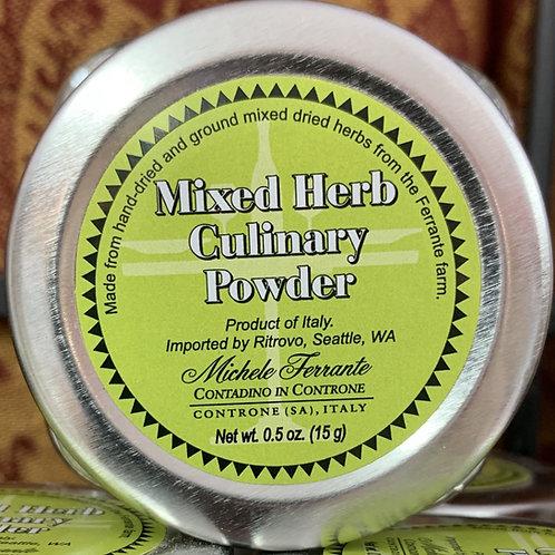 Mixed Herb Culinary Powder