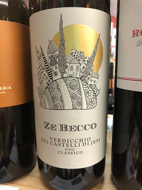 Ze Becco Verdicchio only in store