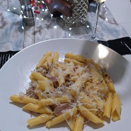 Tonno (Italian Tuna) with Pasta - Ange's Recipe!