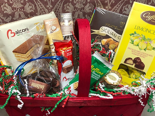 Sweets Gift Basket