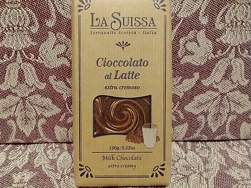 La Suissa Milk Chocolate Bar