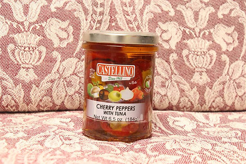 Cherry Peppers with Tuna