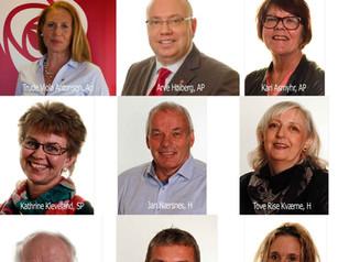 VBUR presenterer seg for fylkespolitikerne