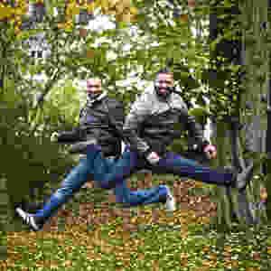 Marco og Francois Elsafadi