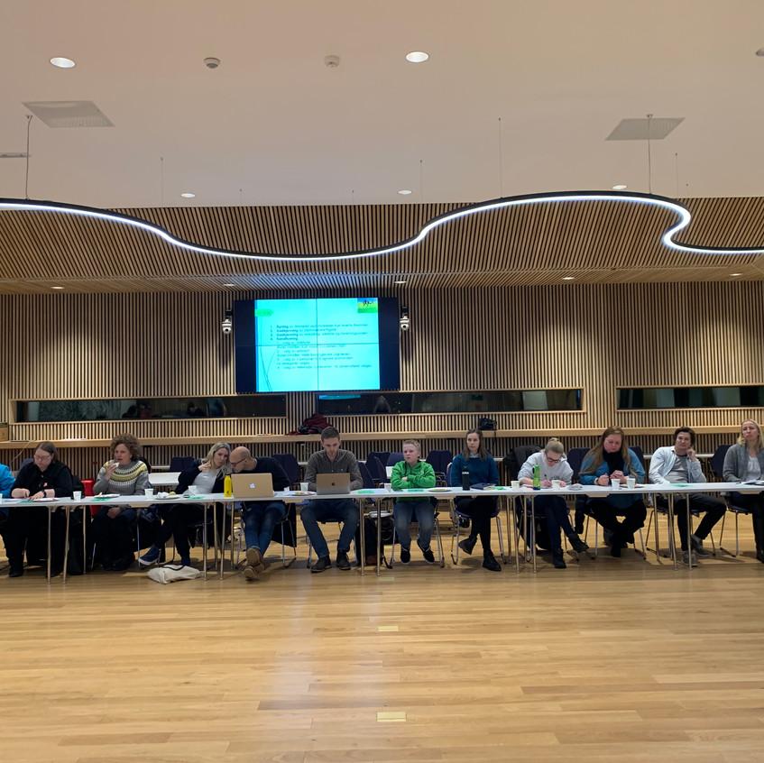 Delegater og observatører fra våre 27 medlemsorganisasjoner.