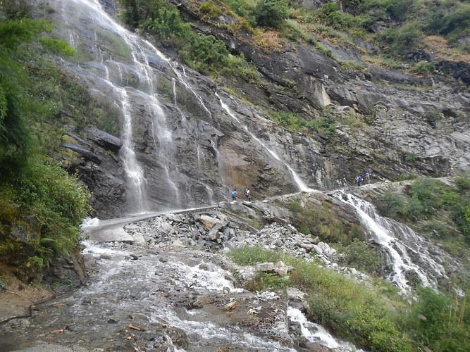 Разлив водопада