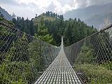 Висячий мост, Непал