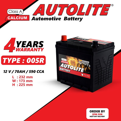 AUTOLITE BATTERY TYPE 005R