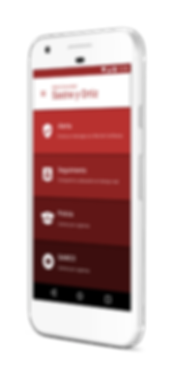 home app alert comunidad