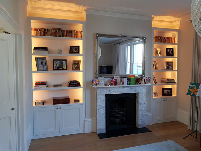 fitted alcoves