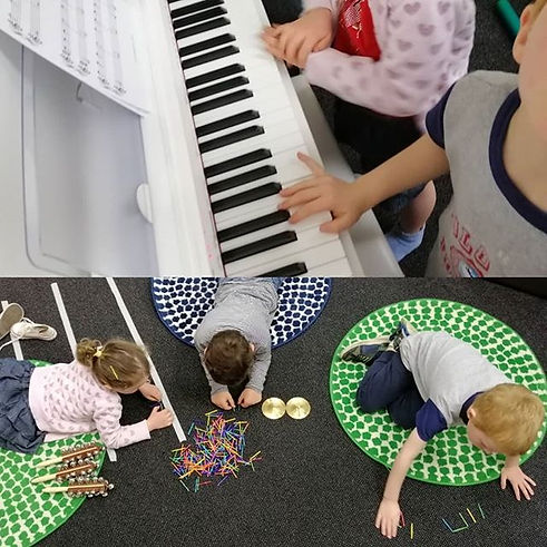 Music classes for pre-schoolers. Lots of