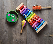 Toy Musical instruments collection on ol
