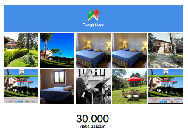 30000 visualizzazioni per villa Chauvet
