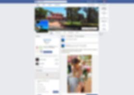 Facebook page, villa Chauvet Rome