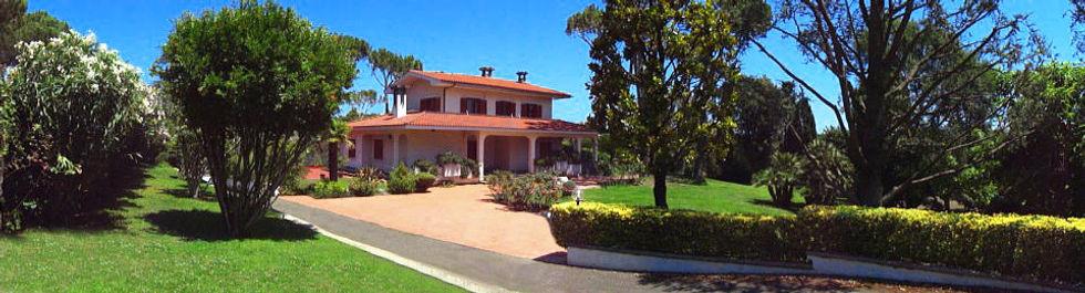 Villa Chuavet / Veduta giardino