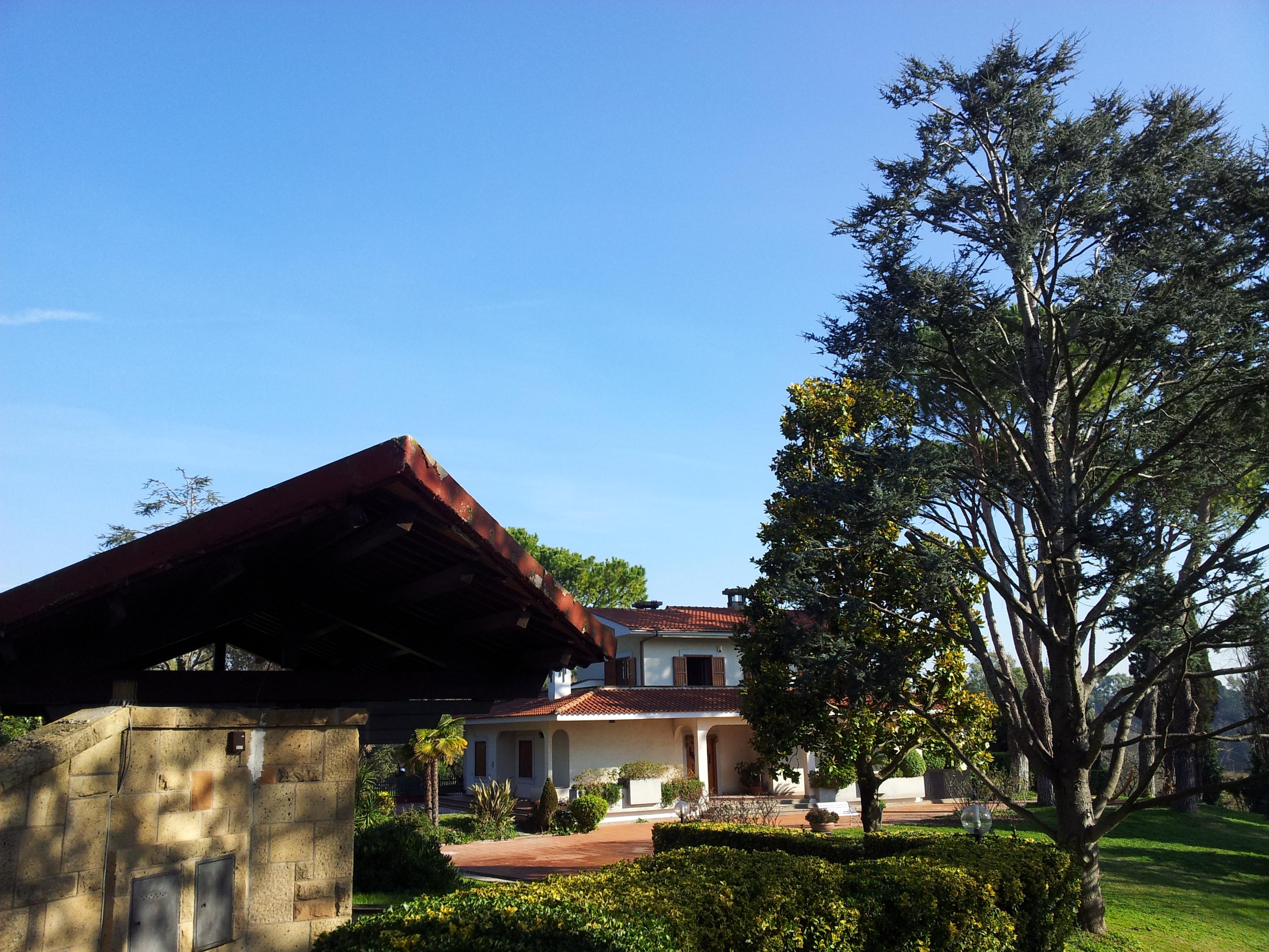 Particolare parco di Villa Chauvet
