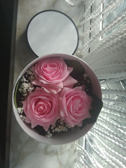 Real Touch Roses Gift Box