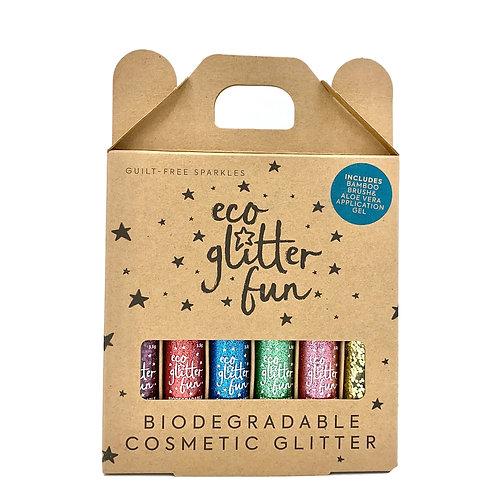 Biodegradeable Glitter 6Pack