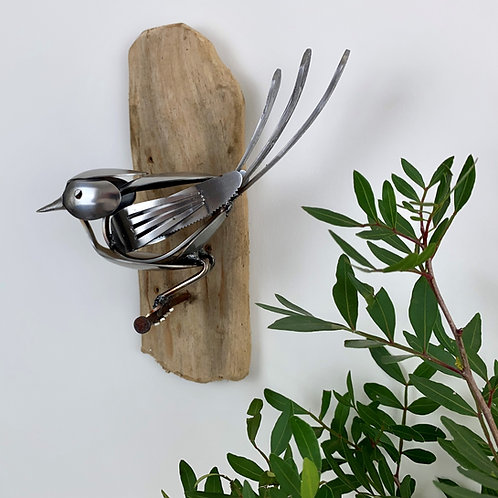 SPOON BIRD SCULPTURE