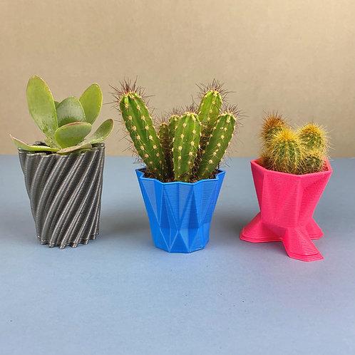 3D PRINTED - MINI PLANT POT
