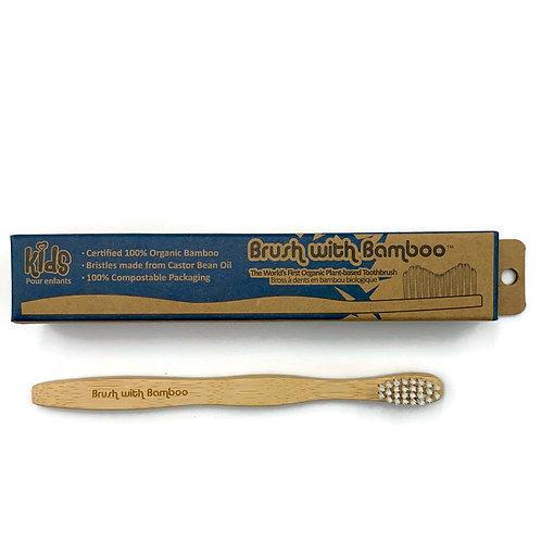 Kids Bamboo Toothbrush - Brush with Bamboo