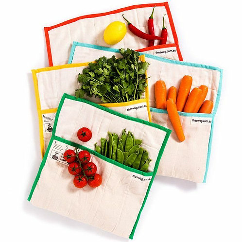 Swag Large- Organic Cotton Washable Produce Bag