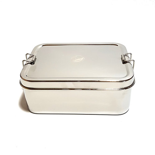 XL Stainless Steel Lunchbox with Mini Snack Box