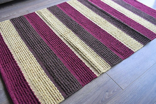 ReCYCLED COTTON & JUTE RUG