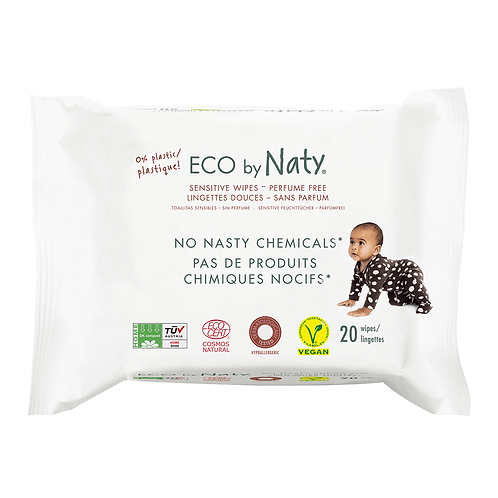 100% Organic Biodegradeable Baby Wipes