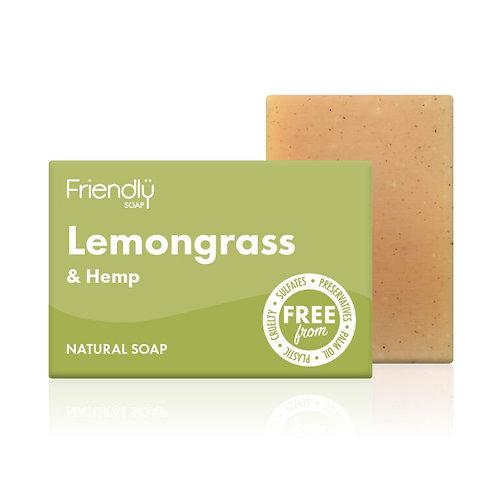Lemongrass & Hemp Soap - Friendly Soap 95g