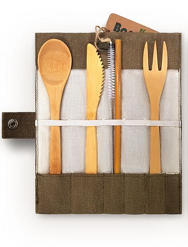 Bamboo Cutlery Set - Bambaw