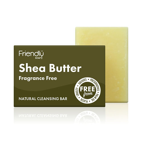 Shea Butter Facial Cleansing Soap - Friendly Soap 95g