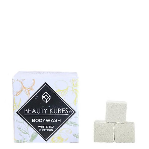 Beauty Kubes - Body Wash White Tea and Citrus -  27pack
